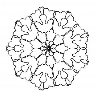 Blütenkopf