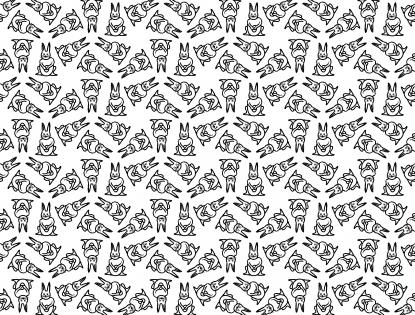 Osterdesign mit Hase